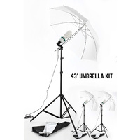 1875W Umbrella Lighting KitX 3