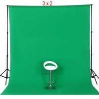 GREEN Photo Background Muslin (3m x 2m) 100% Cotton
