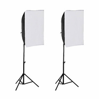 2 x 7 Bulb 2975W Continuous Soft Box Lighting Kit