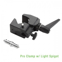 Pro Clamp w/ Light Spigot for Autopole