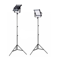 2 x Boling BL-2220P LED Panel Kit with Lightstands