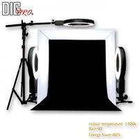 DigPro 60cm Tent Cube 3 Lighting Studio Kit