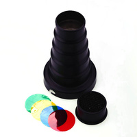 62mm Snoot For Elinchrom Mount Flash Heads