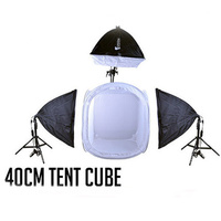 Photography Light Tent Set 40cm x 40cm Boom Kit