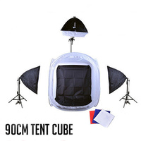 Light Tent Cube 90 x 90cm Boom Set