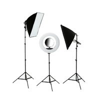 Beauty Ring Light and Softbox Kit with LED Circle Light for Photography Videography