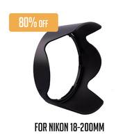 Haida HDHB-35 Lens Hood For Nikon Lens AF-S 18-200mm
