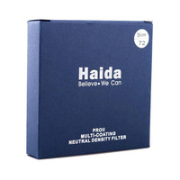 HD2019 Haida (PRO II) ND3.0 10-Stop Neutral Density Slim 72mm