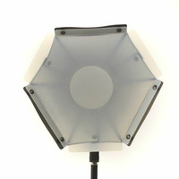 Hexagon Softbox Diffuser for Speed Lights