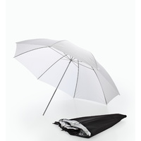43'' Black/Silver and White Interchangeable Umbrella