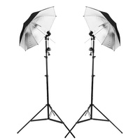 Interchangeable 43'' Umbrella Kit Set x 2