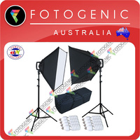 Linco Flora 4-Head Softbox Kit x 2
