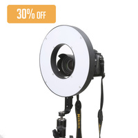 600 LED Bi-Colour Ring Light For MUA Beauty Video Youtube Strong Portable