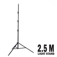 Fotoprime Professional Studio Lighting Stand - 2.5m