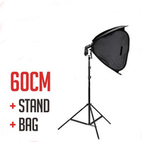 Photography 24 inch 60cm Speed Light Strobe  Soft Box Kit