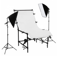 Shooting Table Soft Box Lighting Set 1 x 2M For Product Photography Larger Items