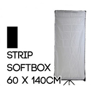 Collapsible Rectangle Soft Box 60cm x 140cm