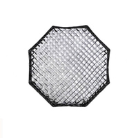 140cm Non Assemble Collapsible Octagon Soft Box with Grids