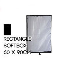 Collapsible Rectangle Soft Box 60cm x 90cm for Bowens Mount