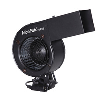NiceFoto Hair fan For Photography Videography Blower Hair Effects