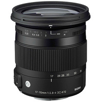 Sigma 17-70mm f/2.8-4 DC Macro OS HSM Lens for Canon (Import)