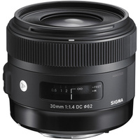 Sigma  30mm f/1.4 DC HSM Art Lens for Nikon (Import)