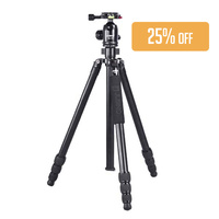 Jusino TSR-254 Aluminium Tripod with BS-18 Head Kit