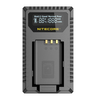 Nitecore Professional Battery Charger for Sony Cameras DSLR USN2