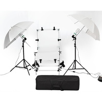 Shooting Table Umbrella Lighting Set 1 x 2M 4 light set