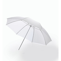 33'' White Portable Photography Umbrella