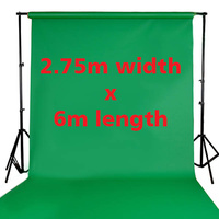 Fotoprime Premium Vinyl Background Backdrops 2.75m x 6m Green 510gsm