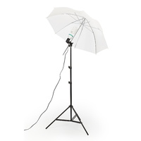 White 43'' Umbrella Kit Set x 1