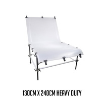 Menik Heavy Duty Heavy Load Large Product Photography Shooting Table Chair 130cm x 240cm