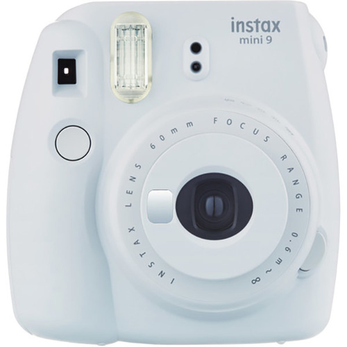 Fujifilm instax mini 9 Instant Film Camera (Smokey White)