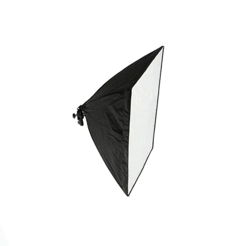 Single Bulb Light Holder with 50cm x 70cm Rectangle Softbox