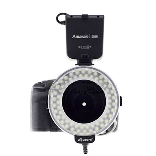 Amaran LED Ring Light for Fashion and Macro Video/Photography