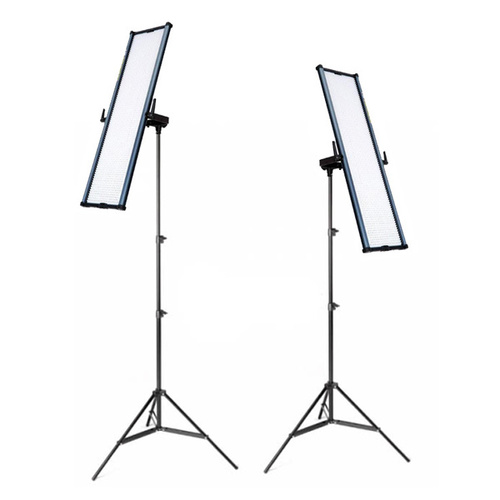 2x Boling BL-2280P LED Panel Light for Videography Photography Kit