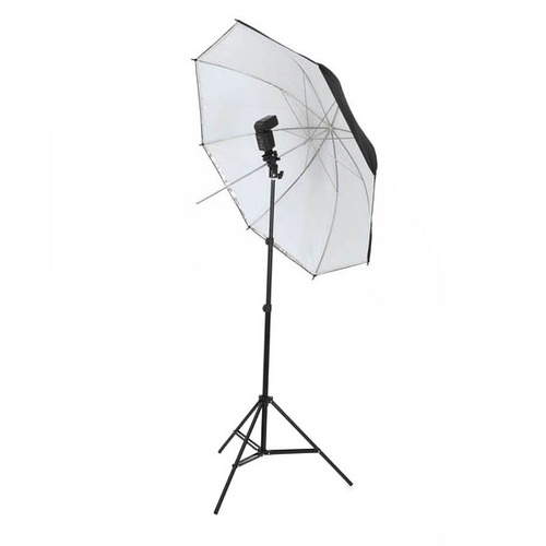 Studio Dual Layer Interchangeable 43 inch SpeedLite Umbrella Kit