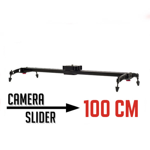 Professional Camera Slider - 100cm For video Smooth Panning