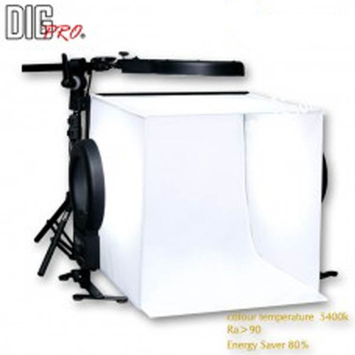 DigPro 40cm 3 Soft Lighting Tent Cube Studio Kit PLUS