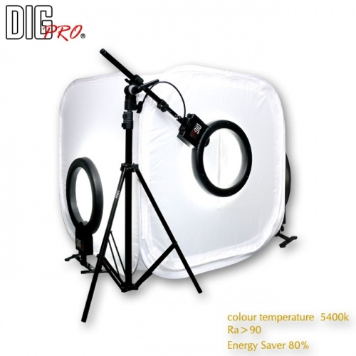 80cm 3 Light Soft Lighting Studio Kit