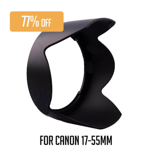 Haida HDEW-83J Lens Hood For Canon Lens EF 17-55mm f/2.8 IS USM
