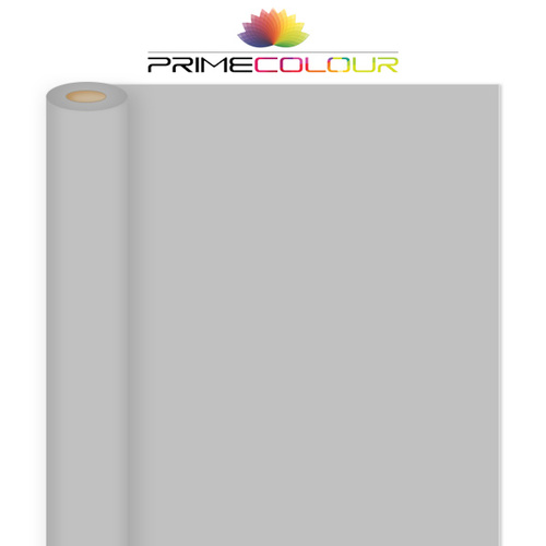 Primecolour Light Grey Full Width Paper Backdrop Roll for Photo Video 2.72m x 10m