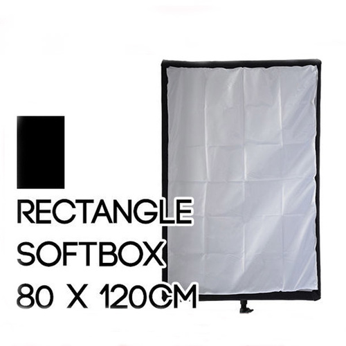 Collapsible Rectangle Soft Box 80cm x 120cm Quick Set up
