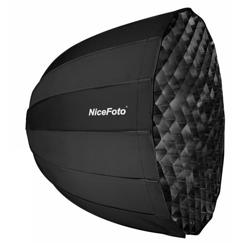 NiceFoto 120cm Deep Octagon Parabolic Softbox with Grids