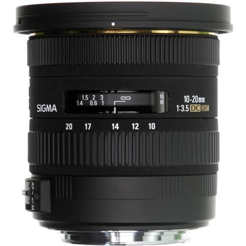 Sigma 10-20mm f/3.5 EX DC HSM Autofocus Zoom Lens For Canon (Import)