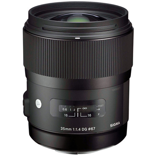 Sigma  35mm f/1.4 DG HSM Art Lens for Nikon (Import)