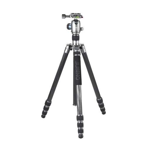 Jusino TK-254C Carbon Fibre Tripod with BT-02 Ball Head For Camera or DSLR