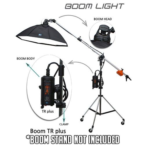 PhotoDynamic TR-600W Individual Studio Flash Boom Head