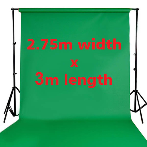 Fotoprime Premium Vinyl Background Backdrops 2.75m x 3m Green 510gsm